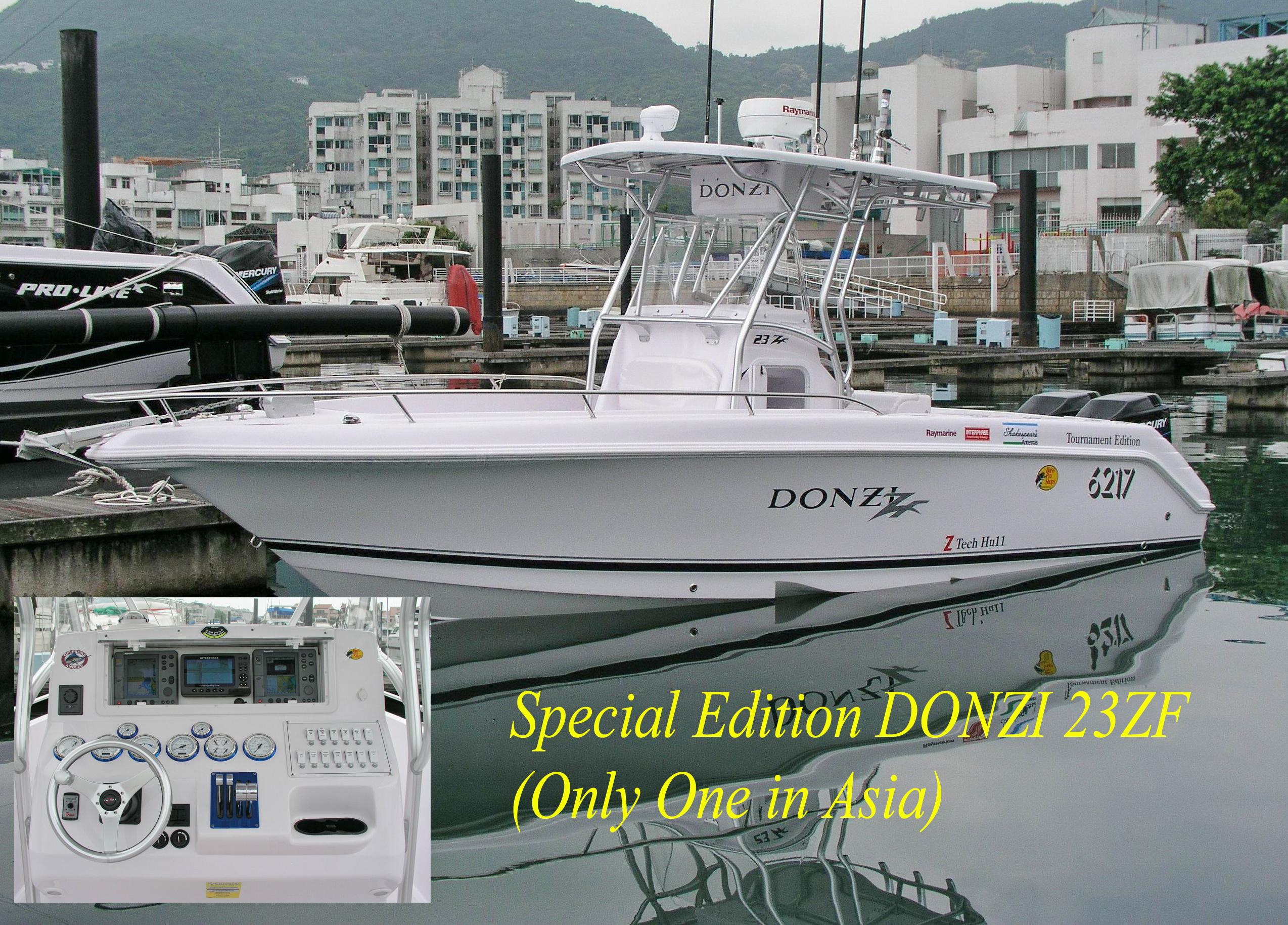 Donzi 23 ZF Twin Color Chart/GPS . Radar . Depth Sonar .